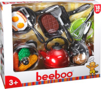 Beeboo Kitchen Kochtopfset, 18-teilig