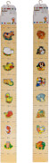 Beeboo Messlatte Länge 98 cm,  sortiert, ca. 100x10x1,3 cm, ab 12 Monaten (nicht frei wählbar)