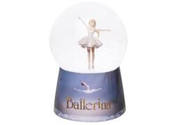 Nachtlicht Schneekugel Ballerina Musik